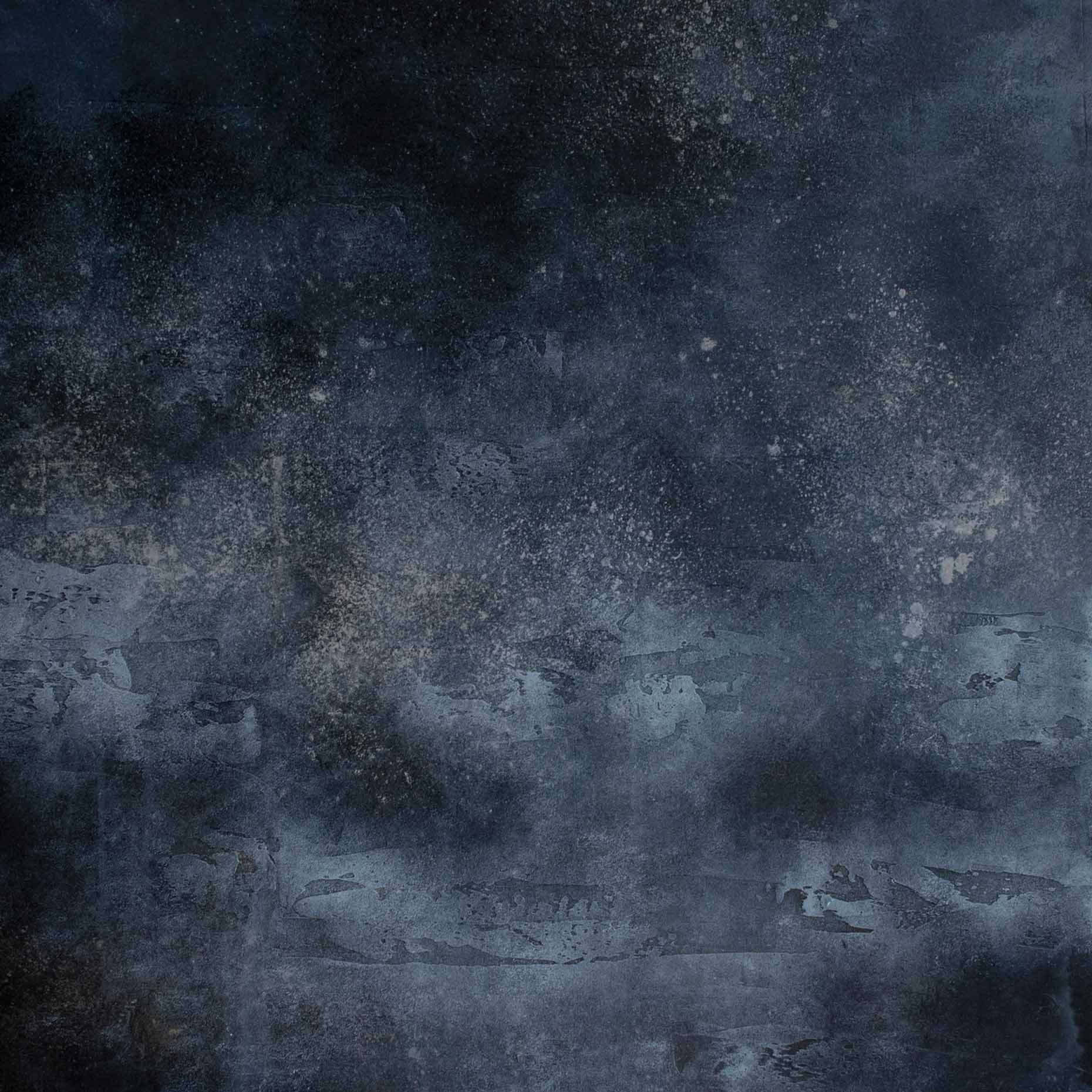 dark blue grungy blotchy stone concrete background