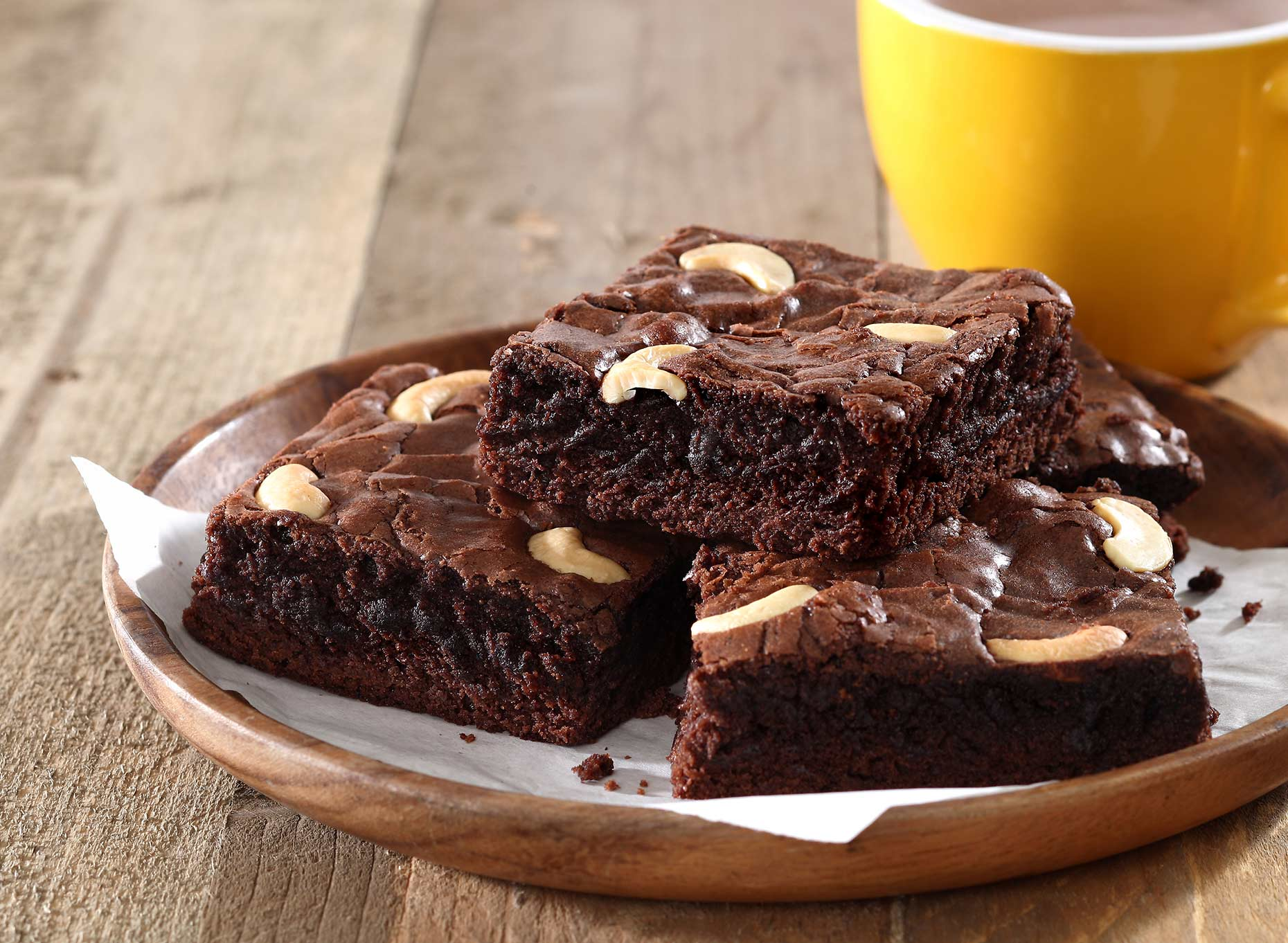 brownies shot used on packaging design