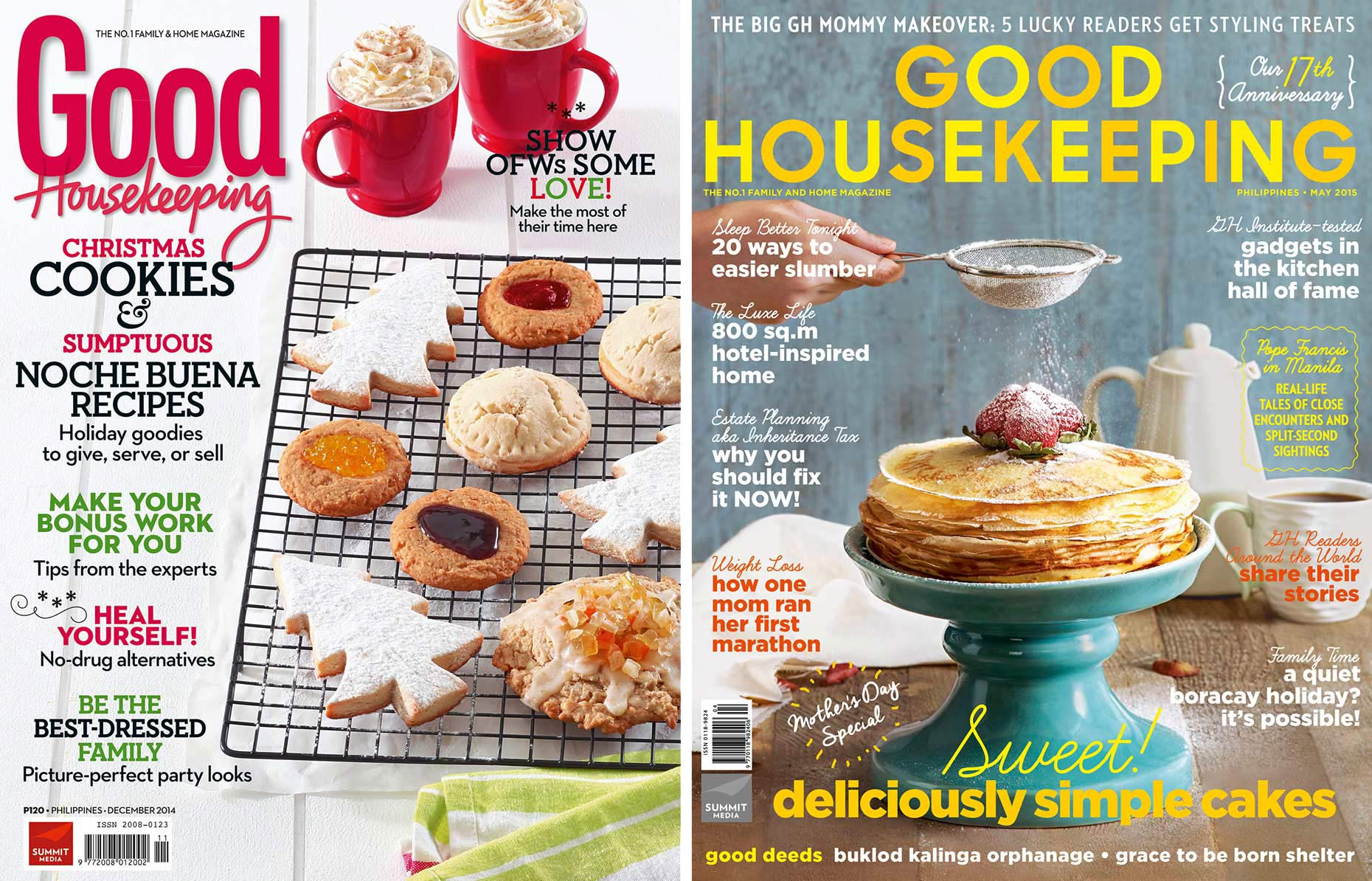 food photography for cover layouts of magazine