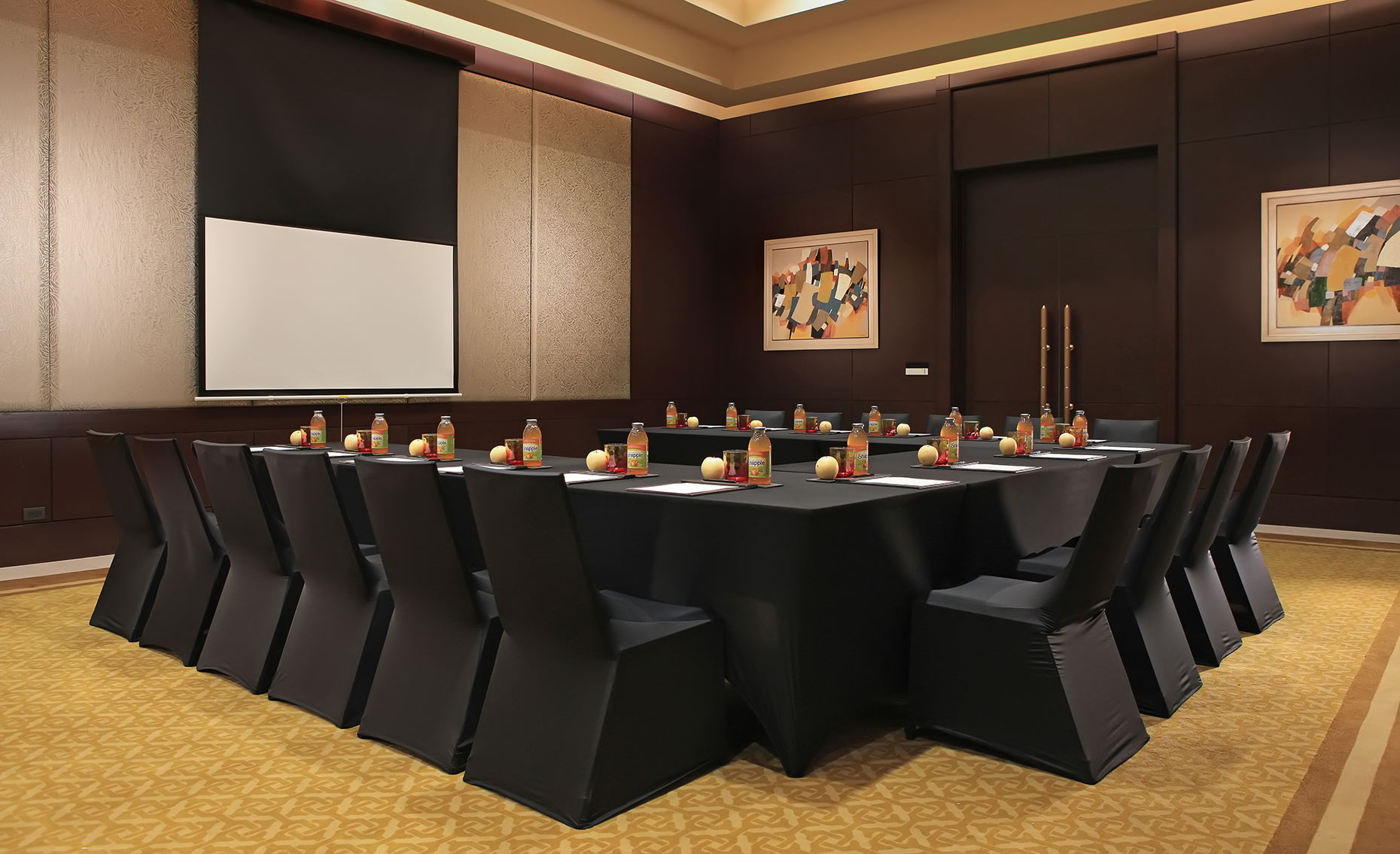 architectural photography for Crimson Hotel Manila conference room