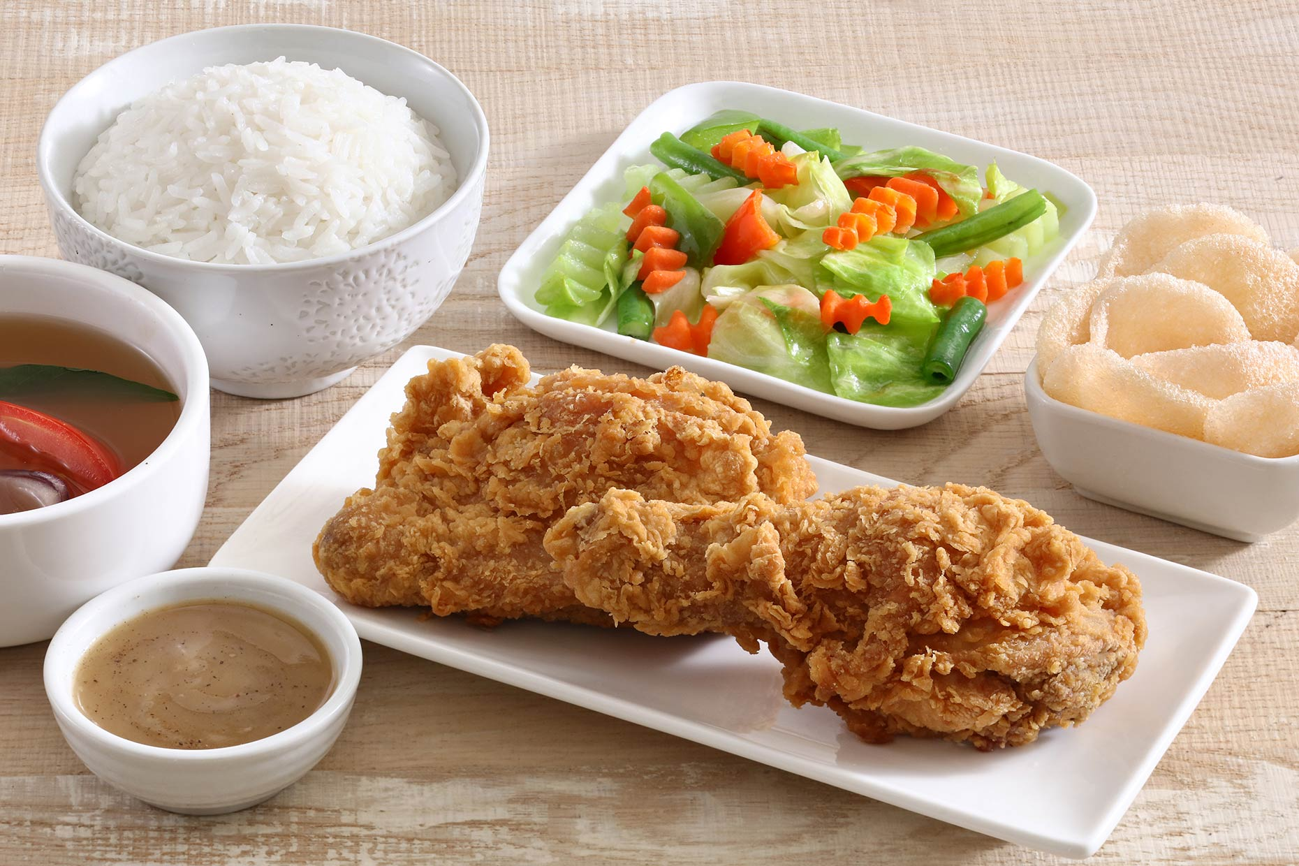 fried-chicken-set