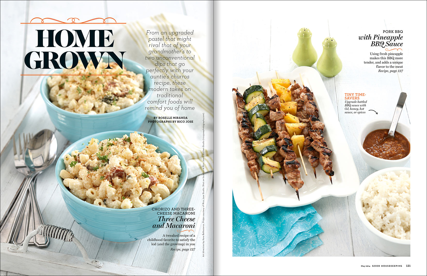 food photography for magazine food layout