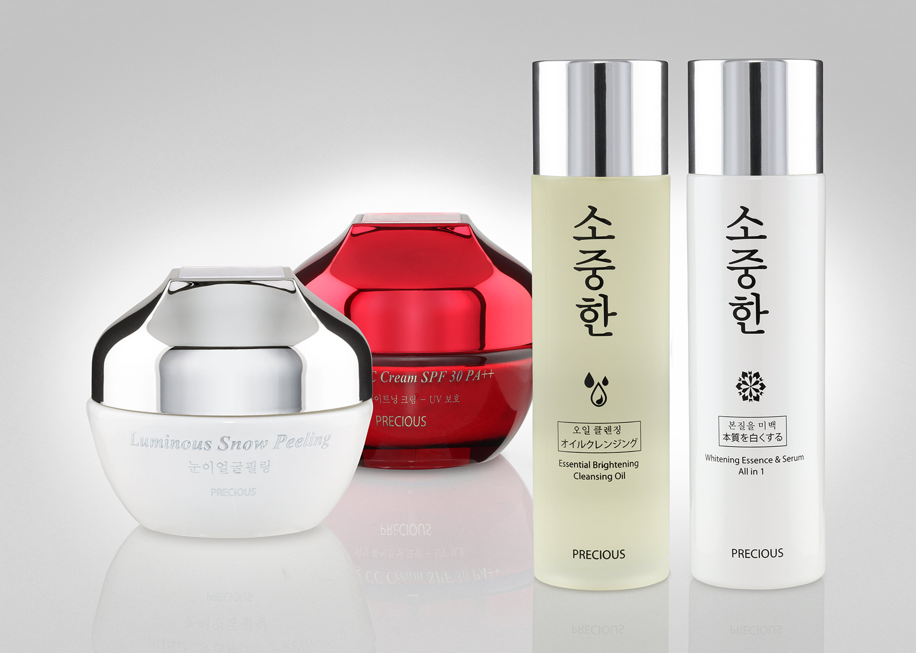 photography for korean brand cosmetic products