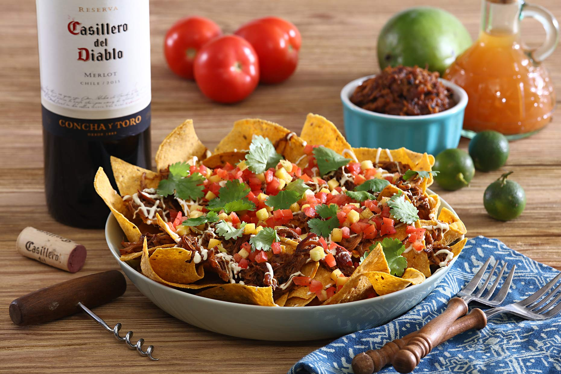 nachos-with-wine
