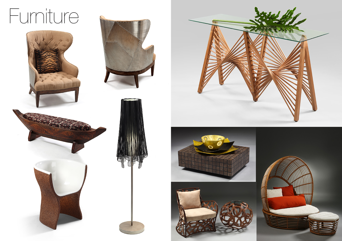 photography of furniture products