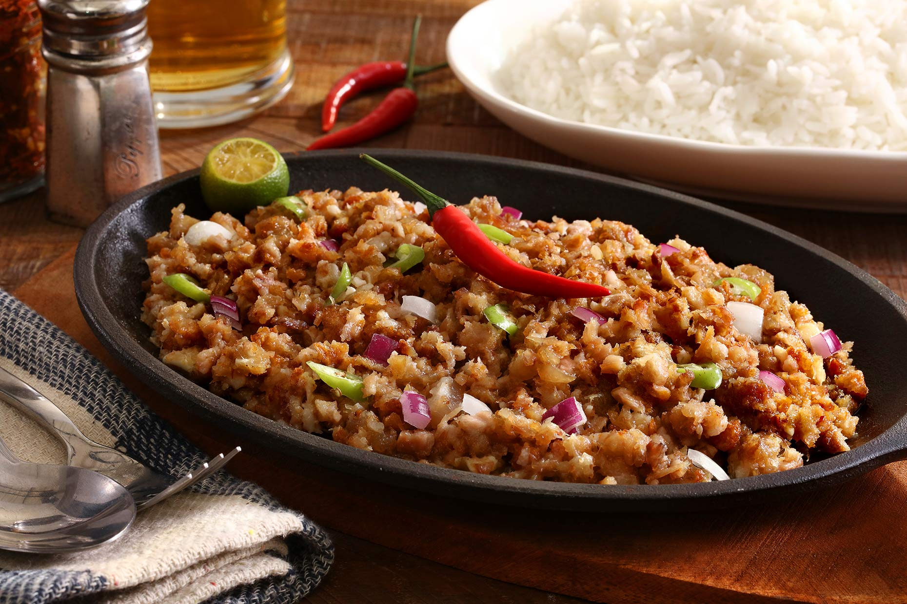sisig-on-hot-plate