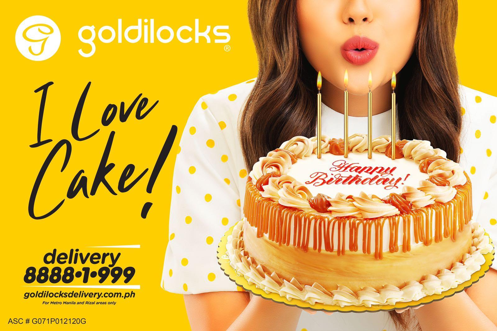 cake and model pictorial for Goldilocks, shot at Rico Jose Food Photpgraphy Studio in  Quezon City, Manila