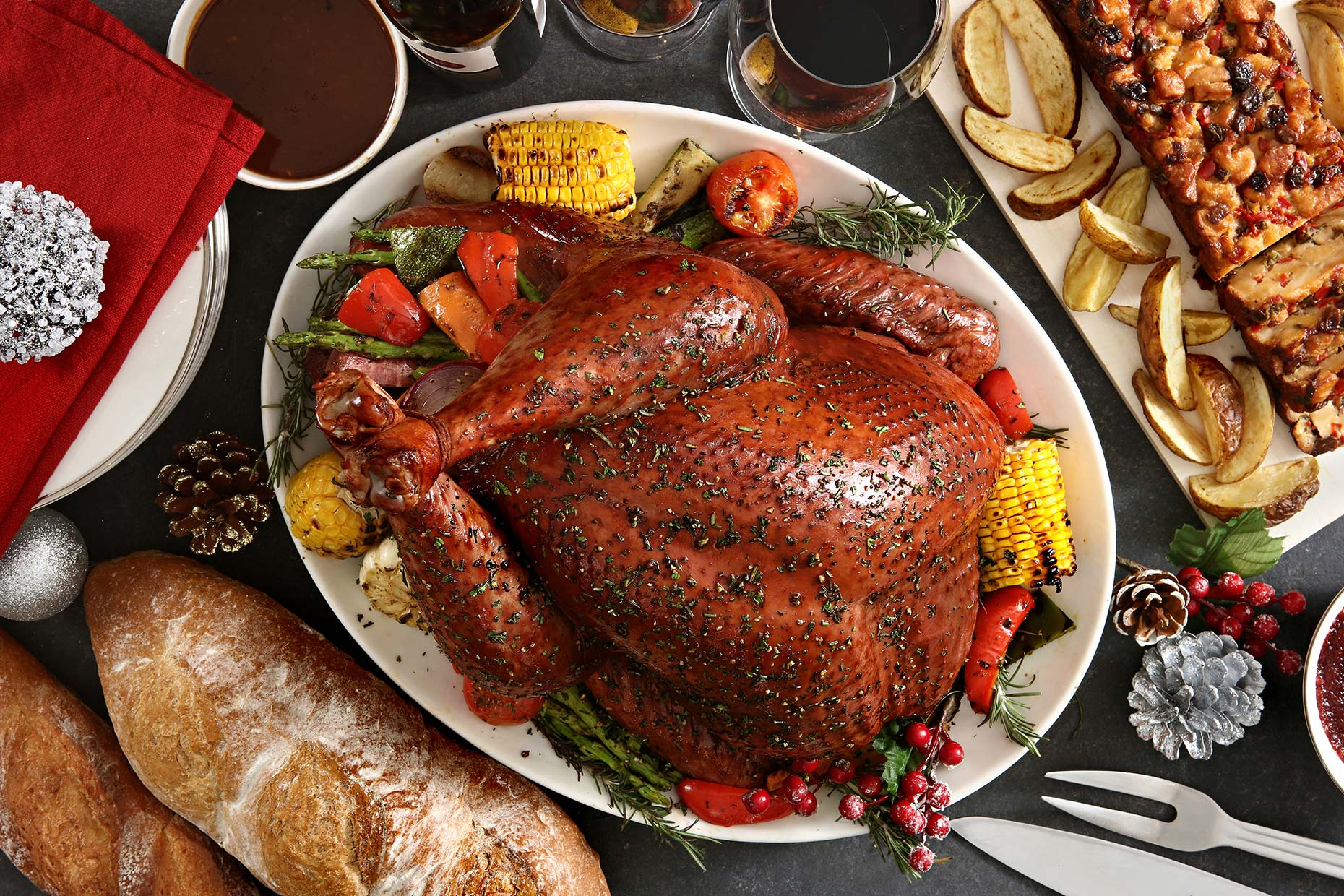turkey for christmas campaign